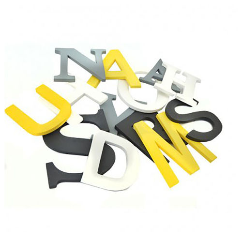 Houten letters set MIX