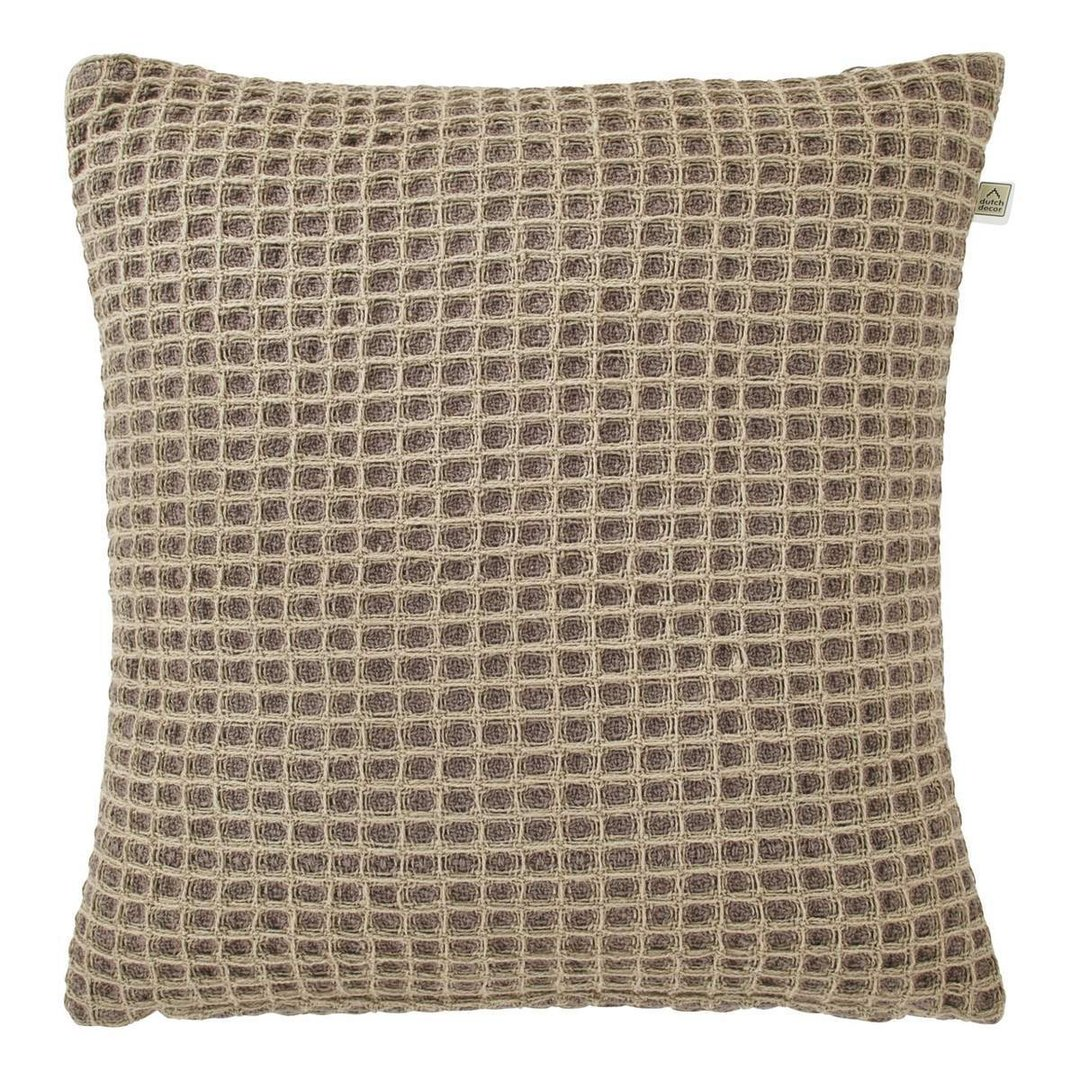 kussenhoes Magatha 45x45 cm taupe